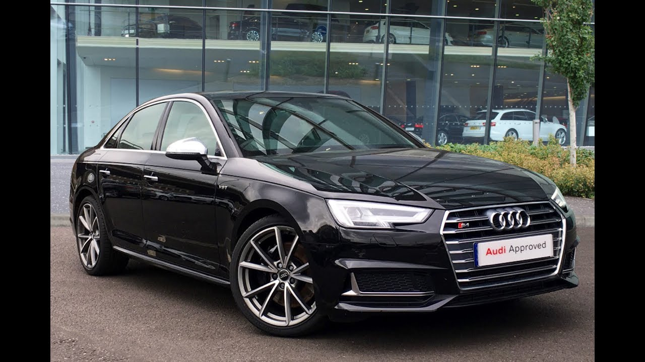 kt66rzm audi a4 tfsi s4 quattro black 2017 west london audi youtube. Black Bedroom Furniture Sets. Home Design Ideas