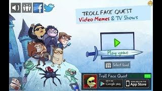 Trollface Quest Video Memes and TV Shows (76 Levels + 1 bonus)