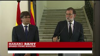 """Spain PM Rajoy on Catalonia Attacks: """"The fight against terrorism is the main concern today"""""""