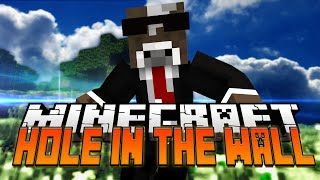 Minecraft Super Hole in the Wall Mini Game