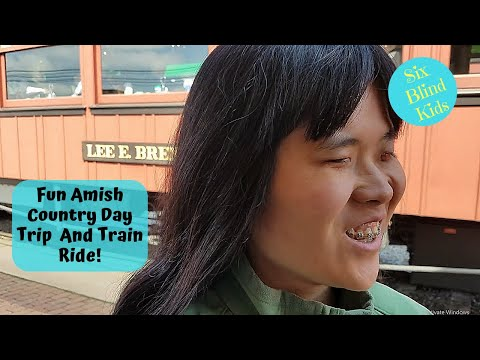 SixBlindKids - Fun Amish Country Day Trip And Steam Train Ride - Lancaster PA