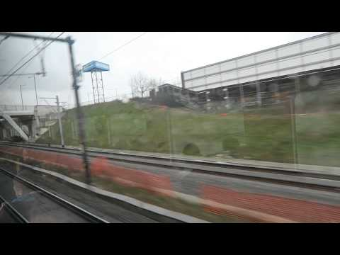 Train toward Ghent from Brussels, Belgium, 2015-04-02