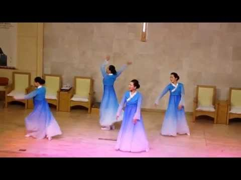 Easter Worship (Dance) at Gangnam Vision Church in Seoul, South Korea dated on Sunday, April 5, 2015
