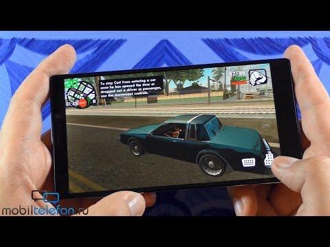 Игры на Lenovo Vibe Z2 Pro (K920) + бенчмарки: 2K и Snapdragon 801 (games + benchmarks)