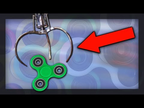 Thumbnail: FIDGET SPINNER CLAW MACHINE WIN!!