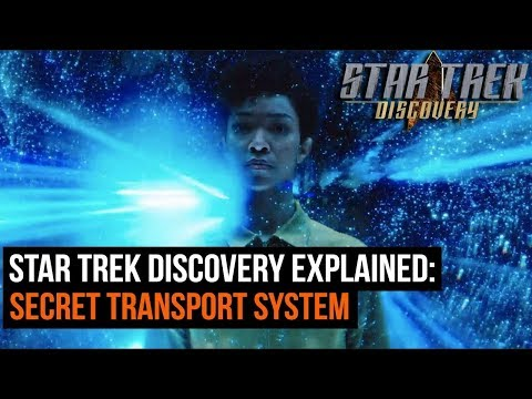 Star Trek Discovery Explained: How The Secret Transport System Works