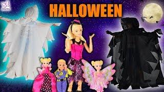 Halloween  Kto jest duchem?   Rodzinka Barbie #48 * Bajka po polsku z lalkami * Marivo