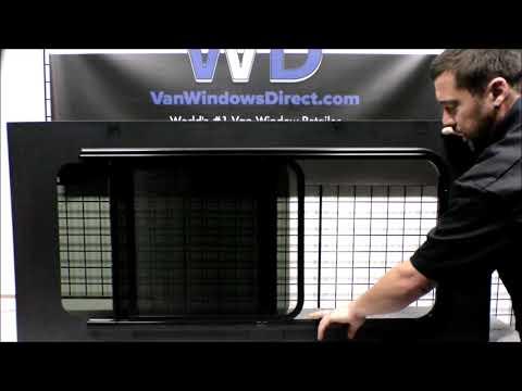 AMA (AM AUTO) Half-Slider with Screen for RAM ProMaster Van