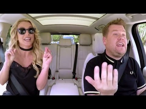 "Britney Spears Sings ""Toxic"" In Carpool Karaoke Sneak Peek"