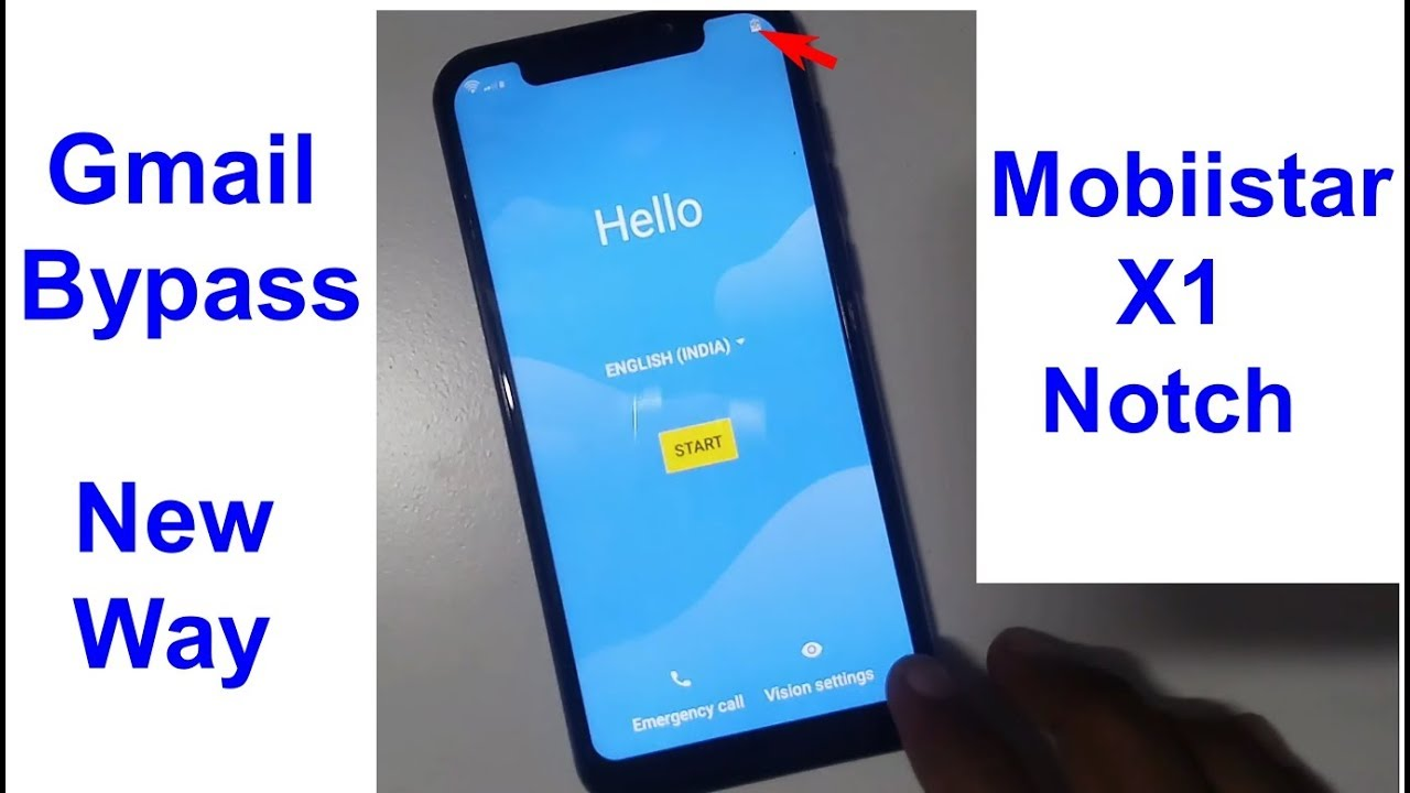 Mobiistar X1 Notch Gmail Bypass And Frp Reset New Trick