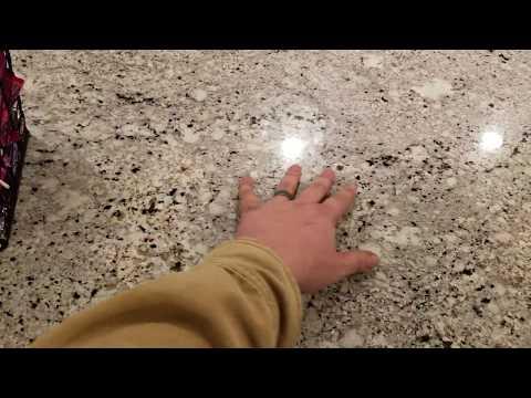How To Clean Granite Countertops - Tutorial