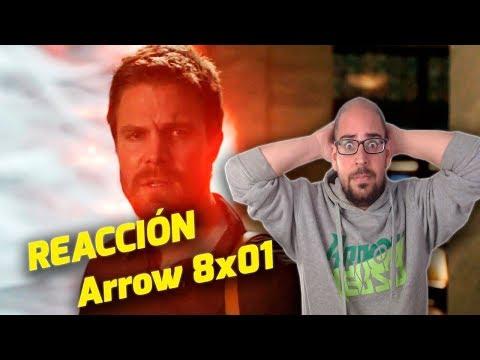 ¡Este episodio fue DEMASIADO! Vídeo-reacción ARROW 8x01. FAN SERVICE + CRISIS