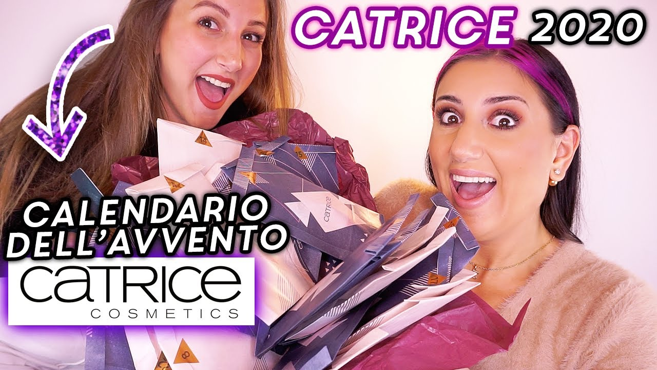 CALENDARIO DELL'AVVENTO CATRICE 2020 🎁