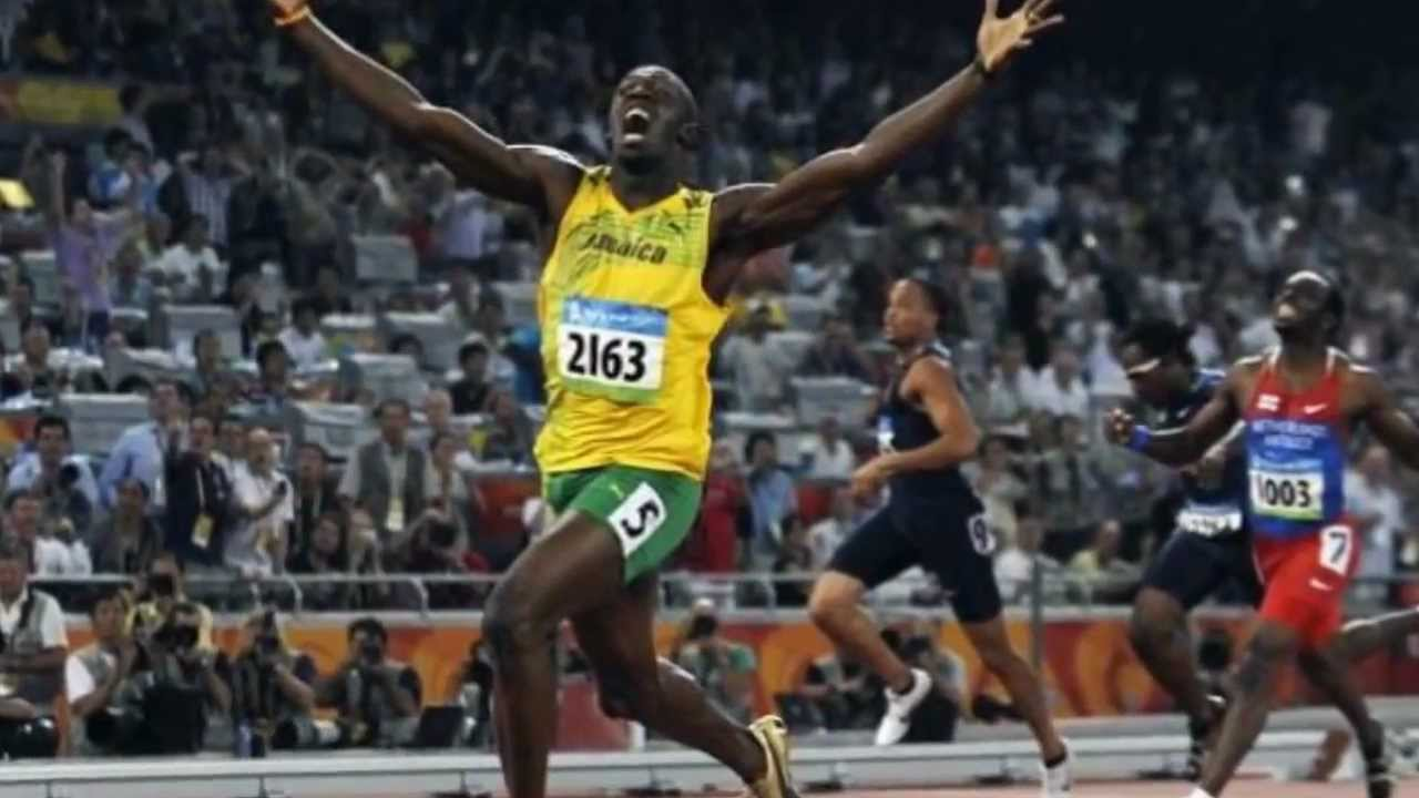 Usain Bolt Wins Gold in men's 100m Final at London ...