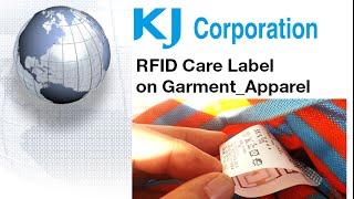 KJ Corporation RFID Care Label for Garment