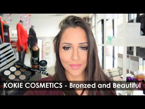 Kokie Cosmetics - Bronzed and Beautiful Review