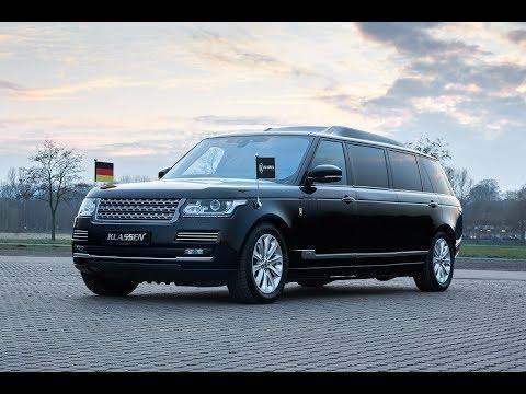 KLASSEN Armoured Range Rover: Luxury Meets Security by KLASSEN® KORTEZH-PROJEKT  SUV