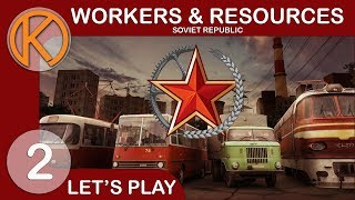 Let's Play Workers & Resources: Soviet Republic | FOOD FOR THE MASSES - Ep. 2 thumbnail