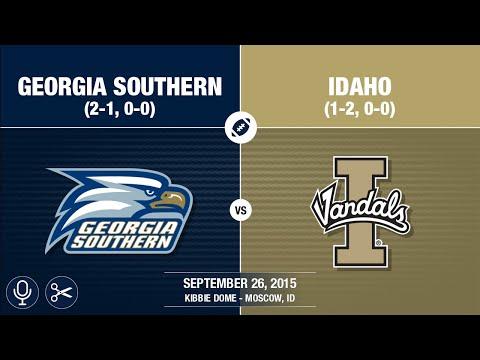 2015 Week 4 - Georgia Southern at Idaho (Quick-Cut / GS Radio)