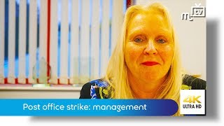 Post Office strike: management