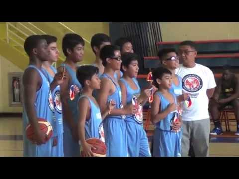 World Basketball Ambassadors Club 2016 0820 Nio 13U Team Philippines vs Team Jamaica