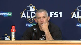 NYY@CLE Gm5: Girardi on the Yankees advancing to ALCS