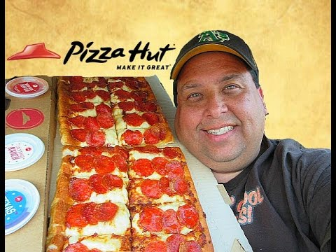 Pizza Hut® BIG Flavor Dipper Pizza REVIEW!