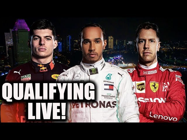 2019 Singapore Grand Prix Qualifying Watchalong