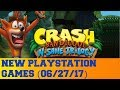 New PlayStation Games for June 27th 2017