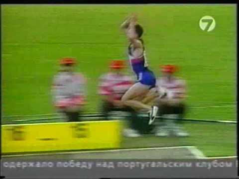 мировой рекорд   лёгкая атлетика   тройной прыжок   18,16 и 18,29 метра