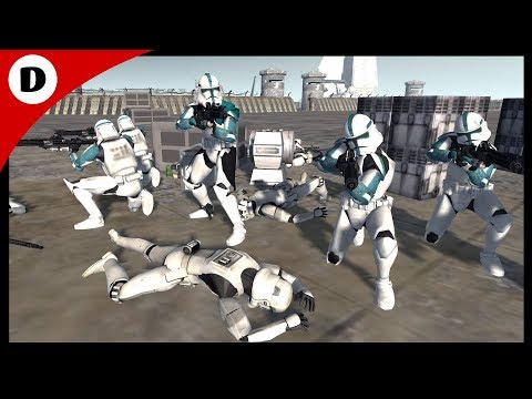 CLONE BAPTISM BY FIRE ~ Star Wars: Rico's Brigade 1