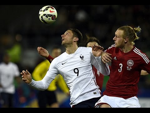 France - Danemark : 2-0, buts et temps forts (highlights) !