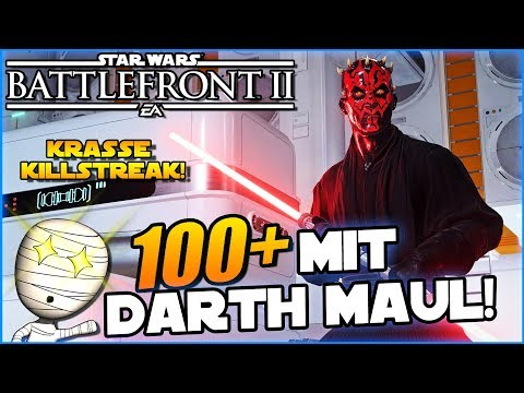 100+ mit Darth Maul! - Star Wars Battlefront II #152 - Lets Play Commentary HD deutsch Tombie thumbnail