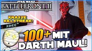 100+ mit Darth Maul! - Star Wars Battlefront II #152 - Lets Play Commentary HD deutsch Tombie