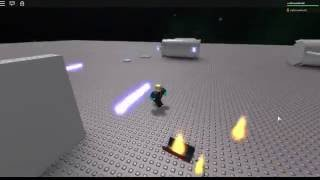 ROBLOX Project Star Wars: Batterie Laser Turbo fonctionnante