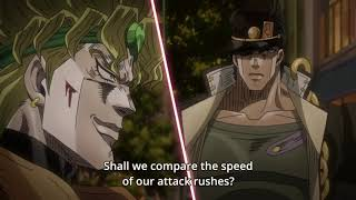 Dio VS Jotaro (Roblox version)