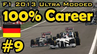 F1 2013 100% Race Ultra-Mod Career - German Grand Prix
