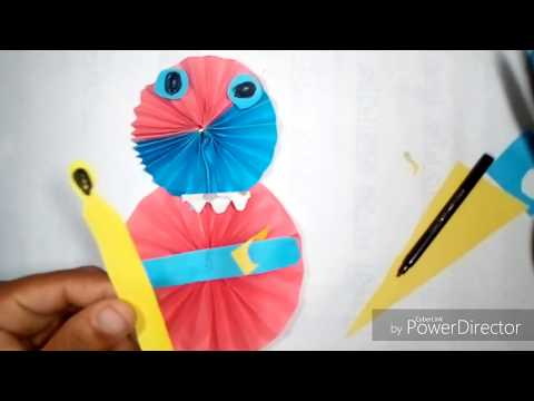 Easy Hand Made Origami Santa Claus Tutorial For Christmas,How To Make a Paper Snowman .