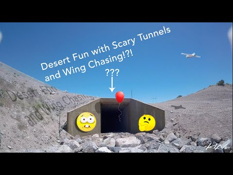Фото Desert Fun with Scary Tunnels and Wing Chasing!?! - Atlas 5 Freestyle FPV