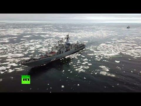 Корабли Северного флота прибыли в Чукотское море для участия в учениях «Восток-2018»
