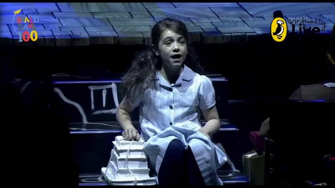 Matilda the Musical - Roald Dahl Day - Puffin Virtually ...