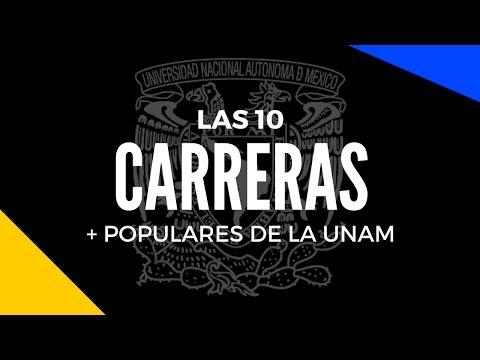 Las 10 carreras universitarias con mayor demanda en la UNAM