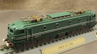 模型 SNCF フランス国鉄 CC7100形 1/160 Nゲージ