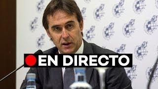 Directo: Presentación de Julen Lopetegui como entrenador del Real Madrid