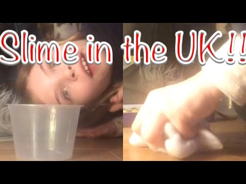 How to make slime in the UK