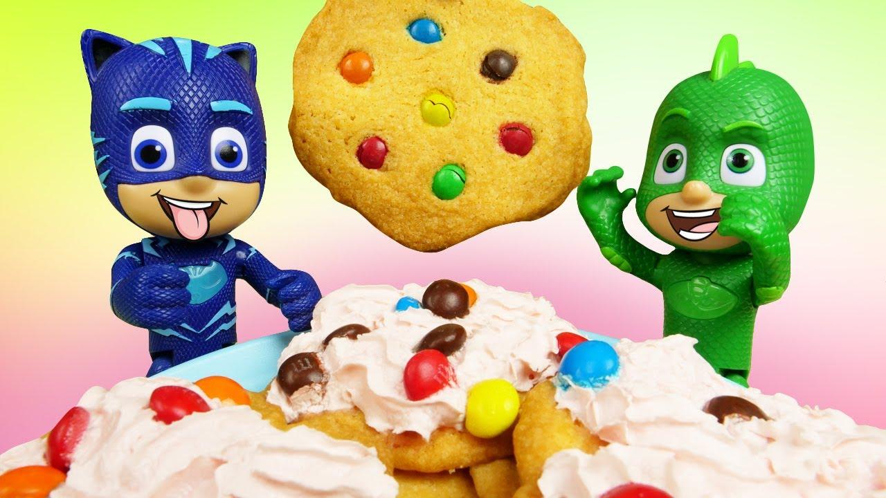 ¡Los PJ Masks hacen galletas! Recetas fáciles. Cocina para niños