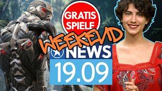 Crysis, Mario und PUBG - Gratis Games und neue Spiele am Wochenende