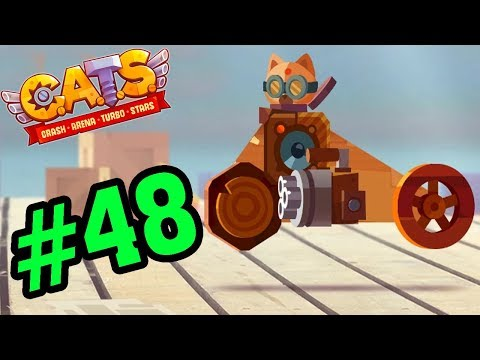 CATS: Crash Arena Turbo Stars #48 - Cải Tiến Xe Để Leo Top 1 - Mèo Con Đại Chiến Game Mobile