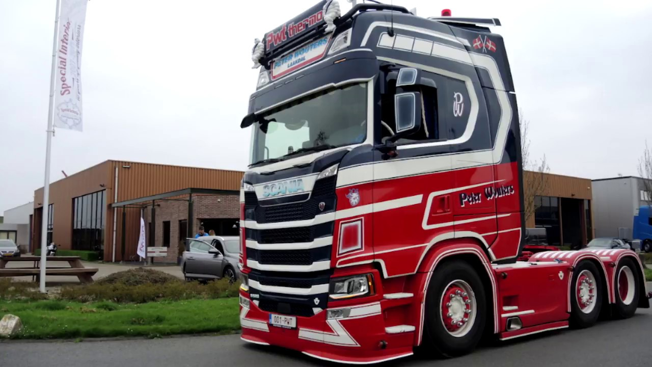 scania s special interior tuning youtube. Black Bedroom Furniture Sets. Home Design Ideas