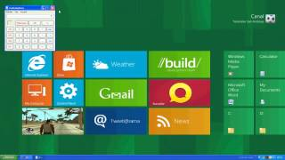 Menu De Windows 8 Para XP/7